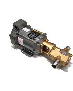 Portable Oil Transfer Gear Pump 12gpm 12VDC