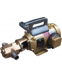 Portable Oil Transfer Gear Pump 25gpm