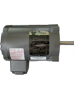Motor Custom 1/3hp, 6000rpm, 3 Phase